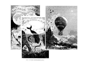 3 obras maestras de la ilustración verniana